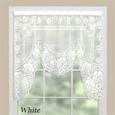 Victorian Lace One Piece Swag Valance 60 x 48