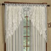 Timberland Lace Swag Valance Pair 68 x 40