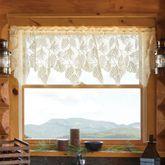Timberland Lace Scalloped Valance 60 x 16