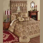 Devonshire Grande Bedspread Ruby
