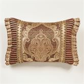 Devonshire Flanged Pillow Ruby Rectangle