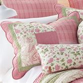 Bashful Rose Quilted Sham Multi Bright Standard