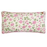 Bashful Rose Piped Quilted Pillow Multi Bright Rectangle
