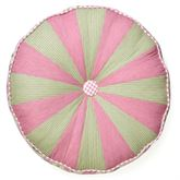 Bashful Rose Tufted Pillow Multi Bright Round