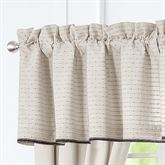 Vienna Tailored Valance Light Almond 55 x 18