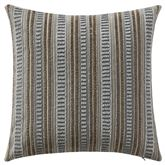 Carrick Beaded Tailored Pillow Antique Gold 14 Square