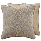 Carrick Reversible Piped Pillow Antique Gold 18 Square