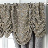 Carrick Ruched Valance Antique Gold 50 x 17
