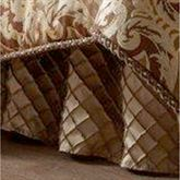 Botticelli II Gathered Bedskirt Brown