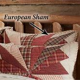 Ozark Rustic Quilted Sham Beige European