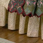 Spice Trip II Gathered Bedskirt Multi Warm