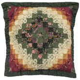Spice Trip II Flanged Pillow Multi Warm 15 Square