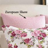 Lidia Tailored Sham Blush European