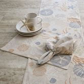 Sea Life Placemats Linen Set of Four