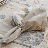 Sea Life Napkins Linen Set of Four