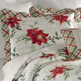 Winter Wishes Quilted Sham Eggshell Standard