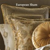 Bradshaw Piped Sham Natural European