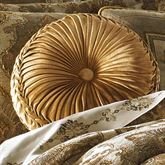 Bradshaw Tufted Pillow Natural Round