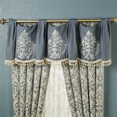 Sterling Swag Valance Steel Blue 56 x 20