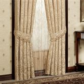 Newcastle Tailored Curtain Pair Tan 84 x 84