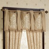 Newcastle Swag Valance Tan 56 x 20
