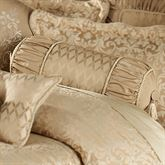 Newcastle Piped Neckroll Pillow Tan