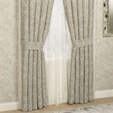 Colette Tailored Curtain Pair Powder Blue 84 x 84