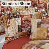 Kendall Quilted Sham Ember Glow Standard