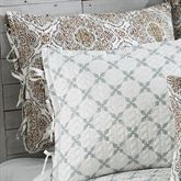 Trina Reversible Quilted Sham Cocoa Standard