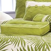 Capri Tufted Pillow Peridot Rectangle