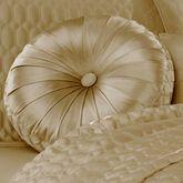 Satinique Tufted Pillow Round