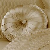Satinique Tufted Pillow Round