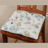 Butterfly Meadow Chair Pads Multi Pastel Set of Two