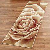 Rose Floral Splendor Runner Rug Cream 22 x 711
