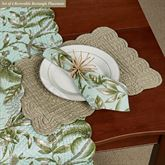Barbados Sea Reversible Rectangle Placemats Multi Cool Set of Four
