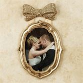 Bow Gold Small Photo Frame 5 x 7