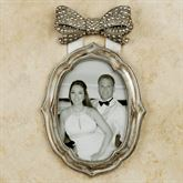 Bow Silver Small Photo Frame 5 x 7