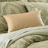 Distinction Tailored Rectangle Pillow Gold