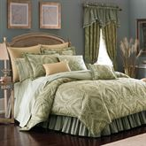 Distinction Damask 4 pc Comforter Set Gold