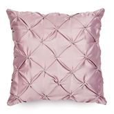 Enchante Pintuck Pillow Dusty Mauve 18 Square