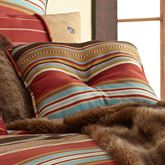 Calhoun Tufted Pillow Multi Warm 18 Square