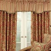 Botticelli Tailored Valance Antique Gold 54 x 18