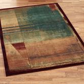 Abstract Expression Rectangle Rug