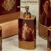 Montecito Lotion Soap Dispenser Merlot