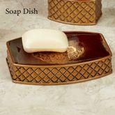 Montecito Soap Dish Merlot