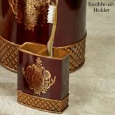 Montecito Toothbrush Holder Merlot
