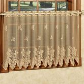 Vineyard Lace Tier Panel Gold