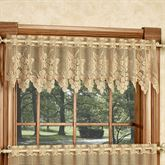 Vineyard Lace Tailored Valance Gold 54 x 12