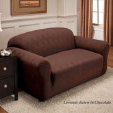Optic Stretch Furniture Cover Loveseat