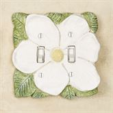 Magnolia Double Switch Antique White